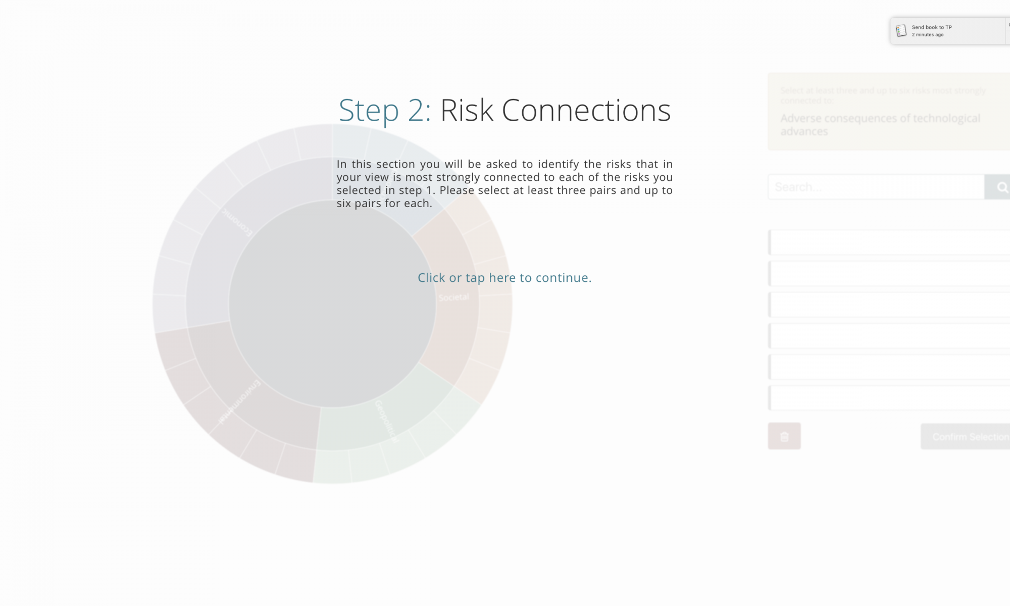 Step 2 - Risk Connections