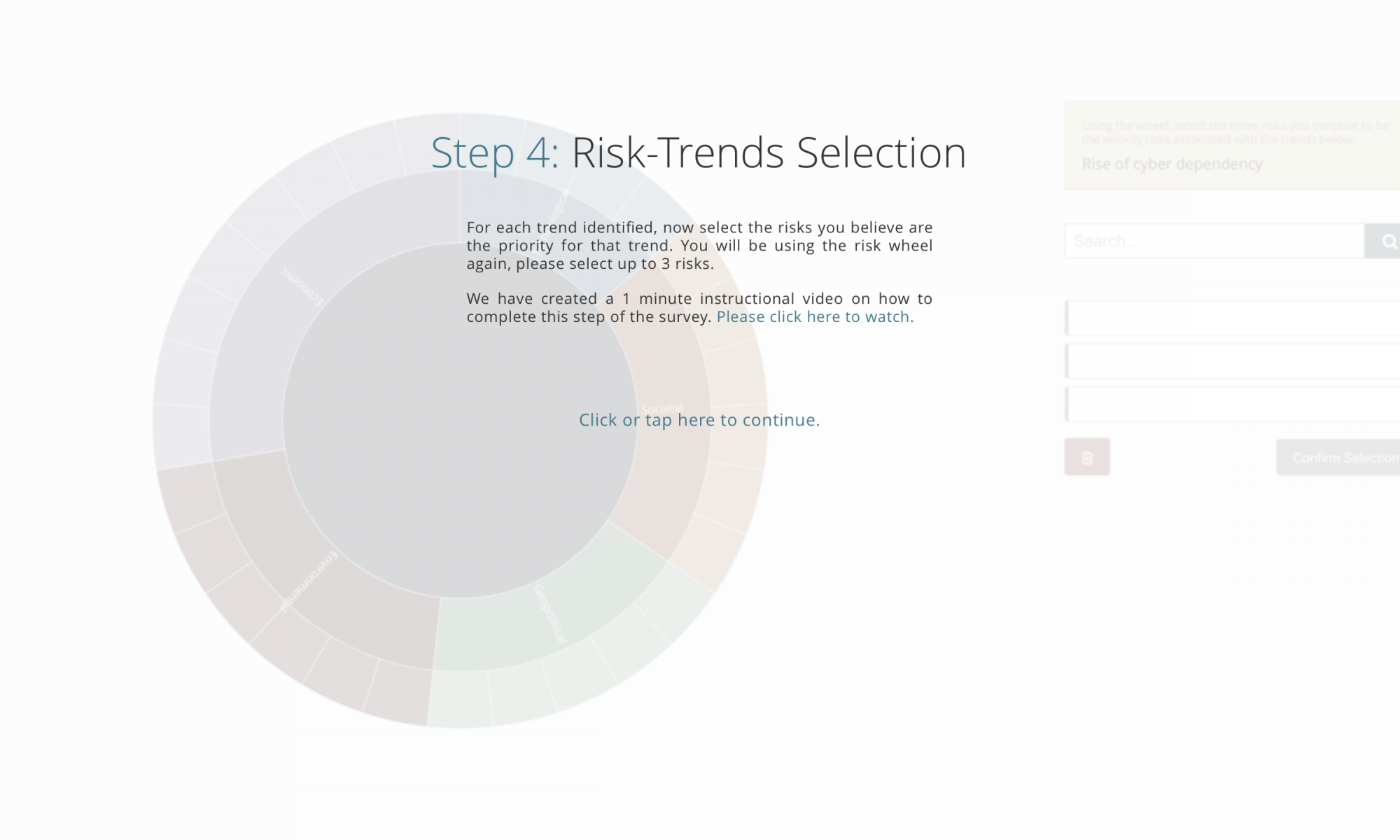 Step 4 - Trend Risk selection